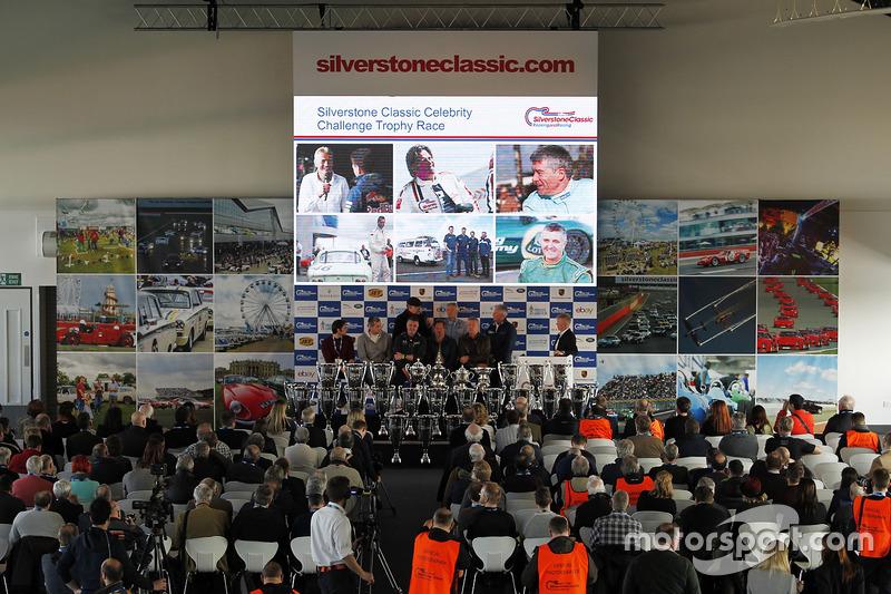 Silverstone Classic conferencia de prensa