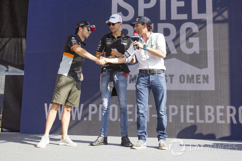 Серхіо Перес, Естебан Окон, Sahara Force India F1