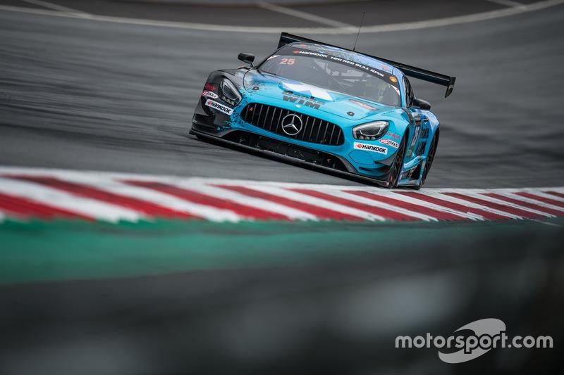 #25 HTP Motorsport, Mercedes AMG GT3: Wim de Pundert, Jimmy Eriksson, Fabian Schiller