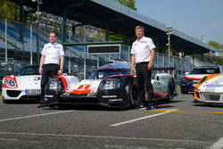 Andreas Seidl, Team Principal Porsche Team, Fritz Enzinger, Vice President LMP1 Porsche Team during the Porsche Team launch
