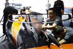 McLaren engine cover detail