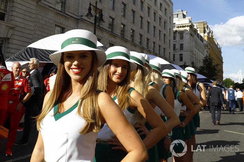 Rolex Grid kızları