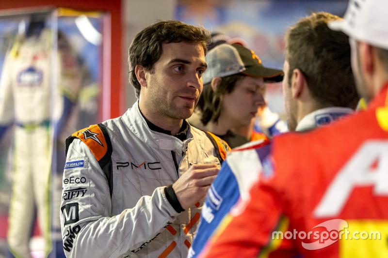 Jérôme d'Ambrosio, Dragon Racing habla con Antonio Felix da Costa, Amlin Andretti Formula E Team
