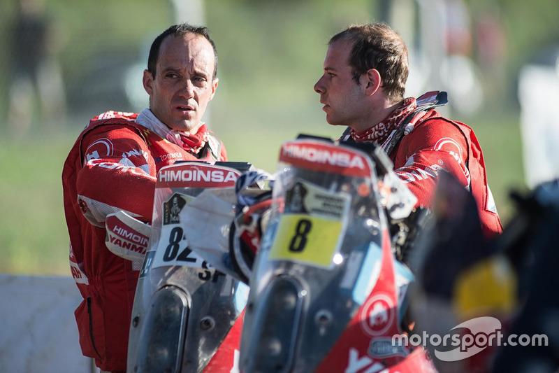 #8 Himoinsa Racing Team, KTM: Gerard Farrés; #82 Himoinsa Racing Team, KTM: Daniel Oliveras