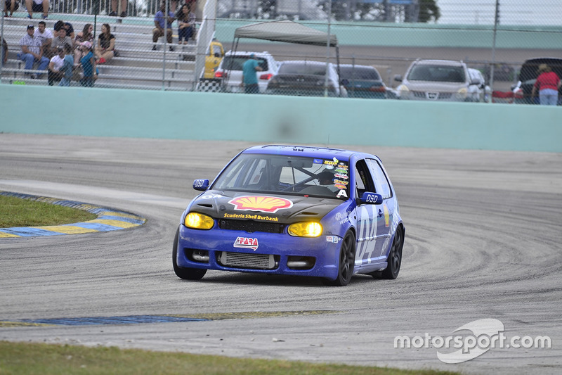 #04 MP3B Volkswagen GTI driven by Camilo Rico of Scuderia Shell Burbank