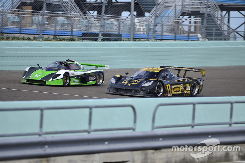 #230 FP1 Corvette Daytona Prototype driven by William Hubbell & Eric Curran of Hubbell Racing, #57 F