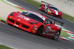 Ferrari 458 Italia Evo-GTCup #161 Caal Racing: Baccarelli-Ferrara