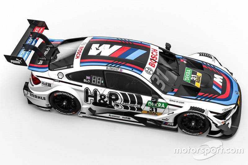 #31: Tom Blomqvist, BMW Team RBM, BMW M4 DTM