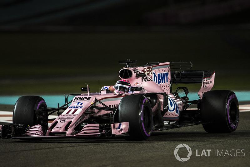 8. Sergio Perez, Sahara Force India VJM10