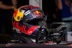 El casco de Max Verstappen