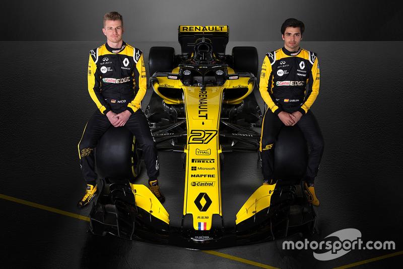 Nico Hülkenberg, Carlos Sainz Jr., Renault F1 Team
