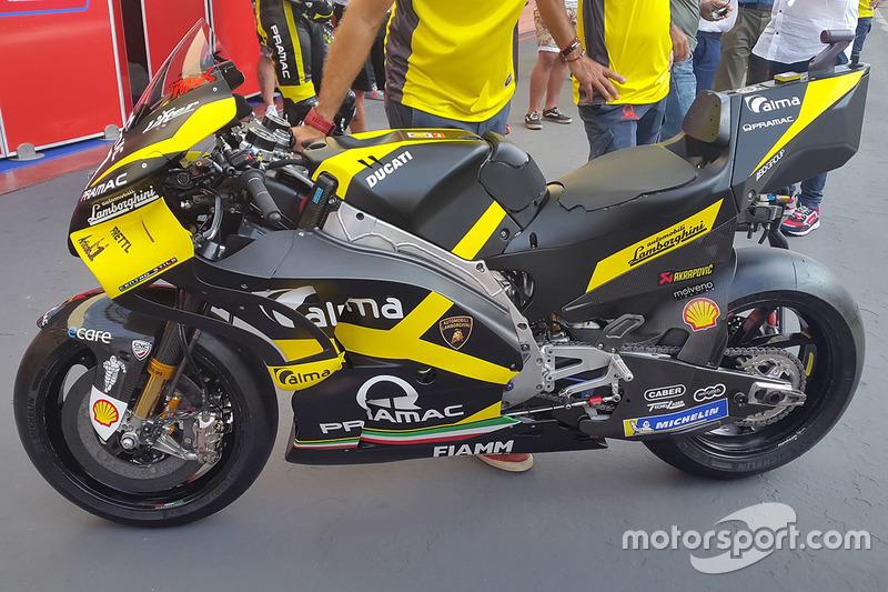 Спеціальна ліврея Pramac Racing
