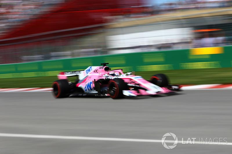 10: Серхио Перес, Force India VJM11 – 1:12.671