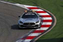 The AMG Mercedes safety-car