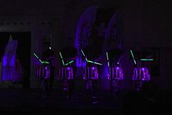 Die Unterhaltungsgruppe Drumming Entertainment Stickstoff