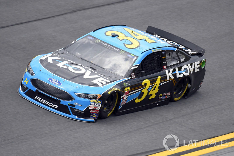 8. Michael McDowell, Front Row Motorsports, Ford Fusion K-LOVE RADIO