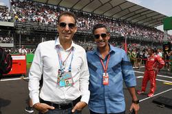 Tariq Al Safar and Shaikh Salman bin Isa Al Khalifa, Chief Executive of Bahrain International Circuit