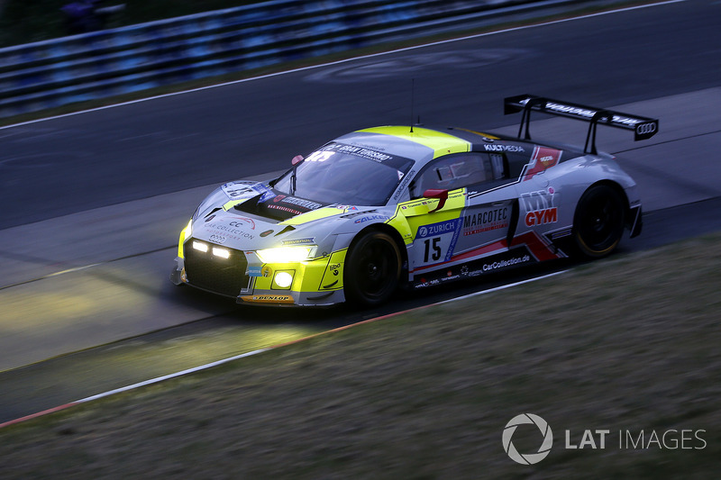 29. #15 Car Collection Motorsport Audi R8 LMS GT3: Adrien de Leener, Simon Trummer, Pierre Kaffer