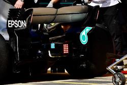 Mercedes-AMG F1 W09 luces de ala trasera