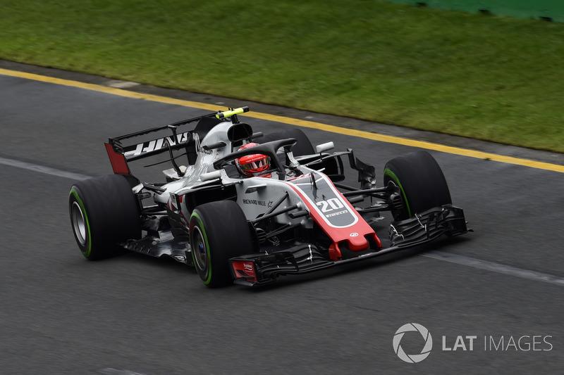 HAAS: Magnussen 1 x 0 Grosjean