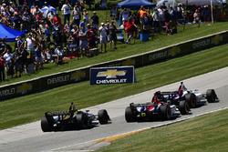 James Hinchcliffe, Schmidt Peterson Motorsports Honda, Matheus Leist, A.J. Foyt Enterprises Chevrolet