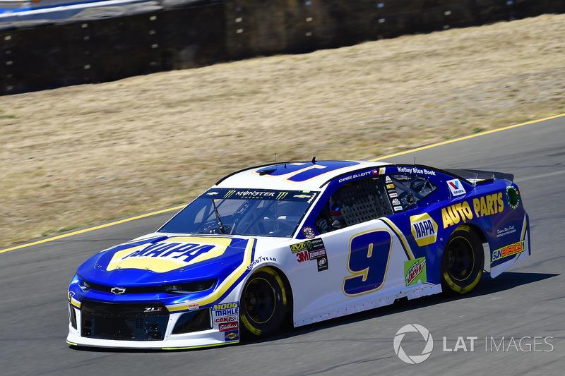 3. Chase Elliott, Hendrick Motorsports, Chevrolet Camaro NAPA Auto Parts