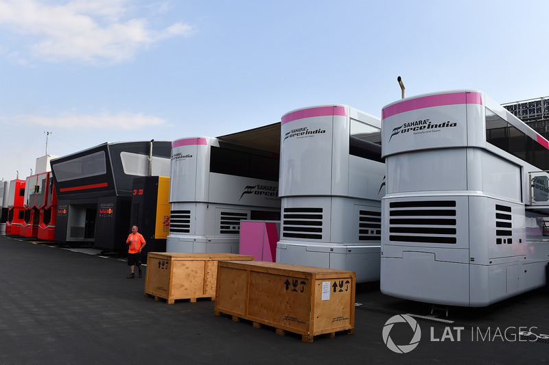 Casse Force India F1