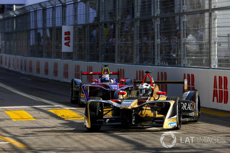 Andre Lotterer, Techeetah, Sam Bird, DS Virgin Racing