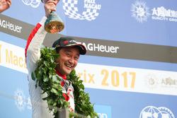 Podium: third place Ryo Michigami, Honda Racing Team JAS, Honda Civic WTCC