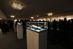 Modelos de amalgama en exhibición