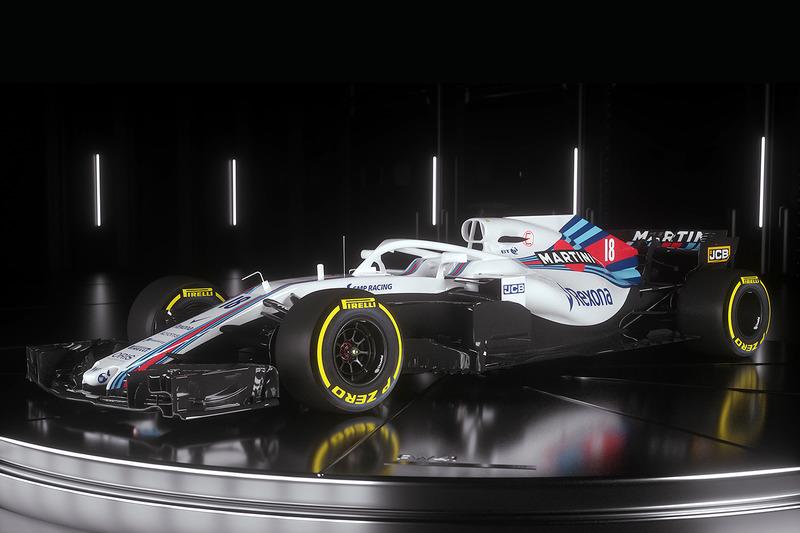 فورمولا 1 سيارة ويليامز 2018