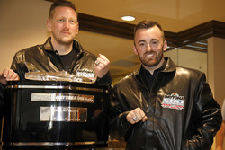 Austin Dillon, Richard Childress Racing Chevrolet Camaro met Crew chief Justin Alexander