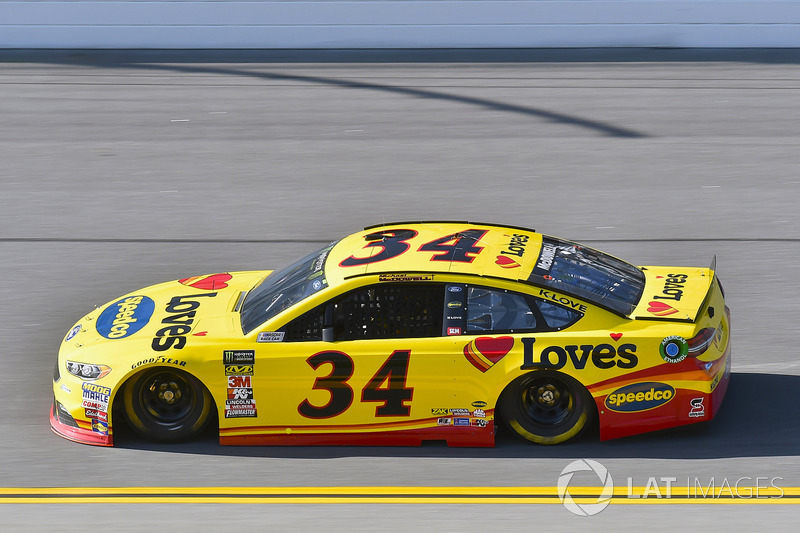 22. Michael McDowell, No. 34 Front Row Motorsports Ford Fusion