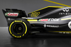 Renault F1 Team RS18 rear detail