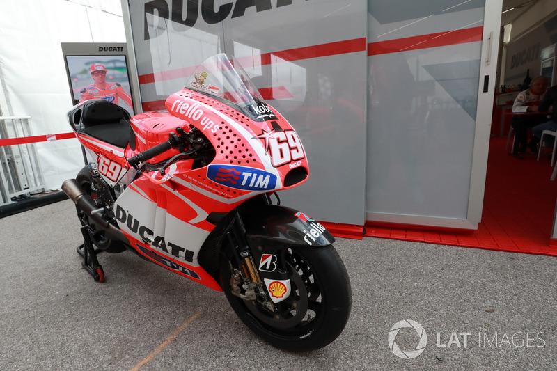 Motor Ducati Nicky Hayden