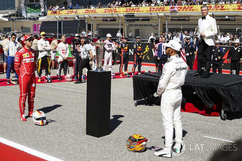 Майкл Баффер, Себастьян Феттель, Ferrari, Льюіс Хемілтон, Mercedes AMG F1