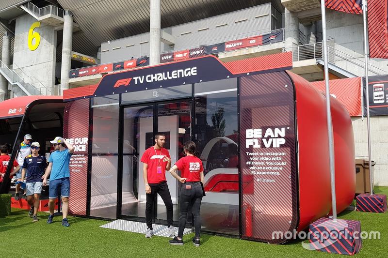 F1 TV yorumculuğu denemesi