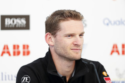 Maro Engel, Venturi Formula E Team, in the press conference
