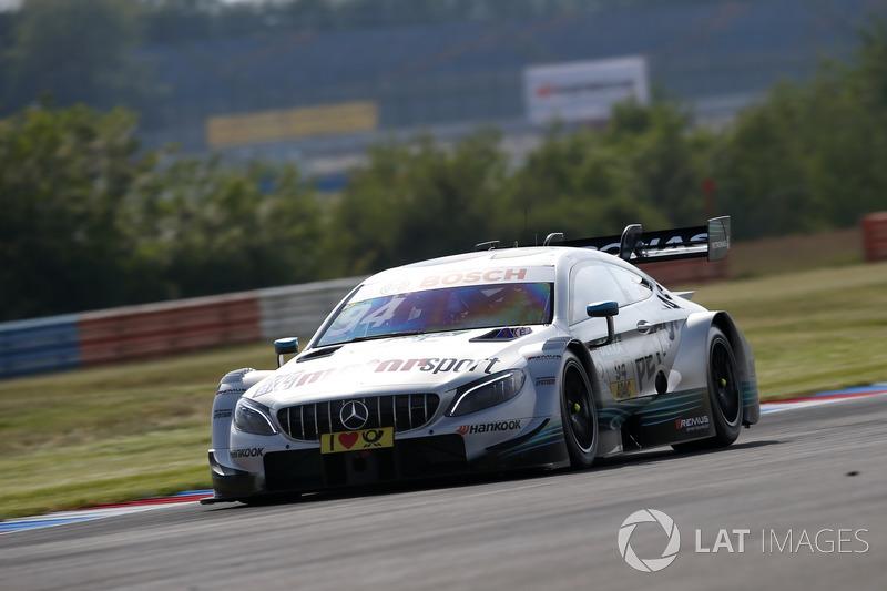 4. Pascal Wehrlein, Mercedes-AMG Team HWA, Mercedes-AMG C63 DTM