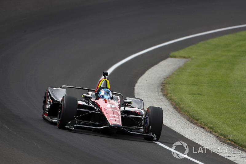 18°: Robert Wickens, Schmidt Peterson Motorsports Honda