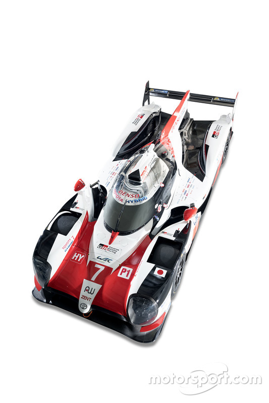 Onthulling livery Toyota Racing