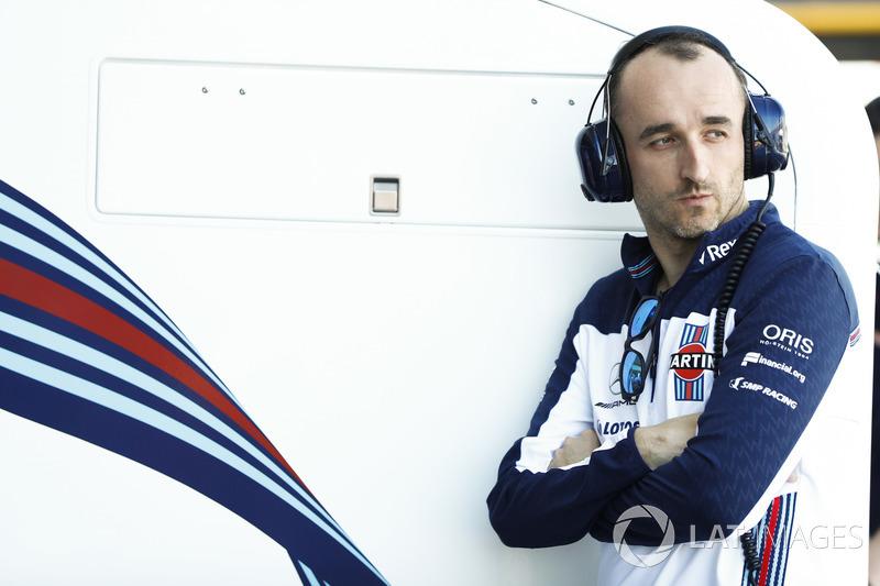 Robert Kubica, pilote de réserve et de développement Williams