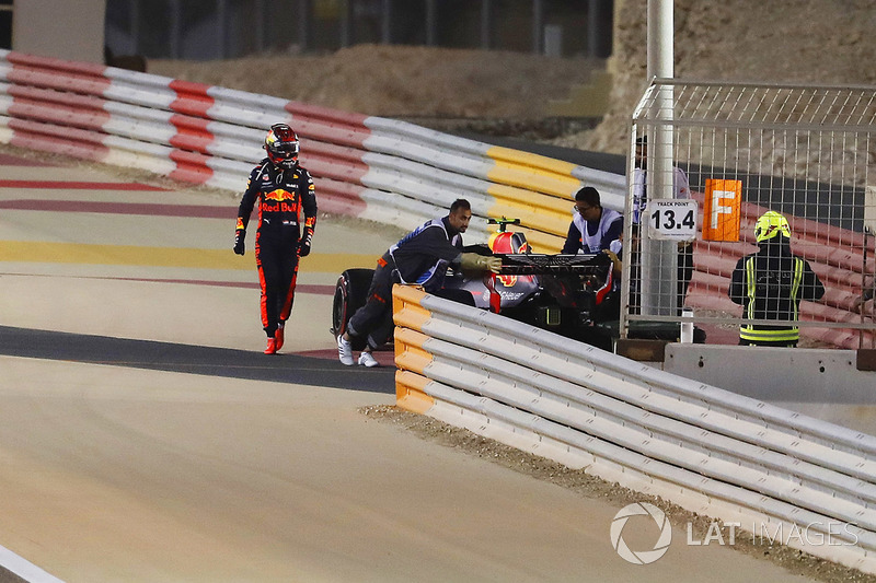 GP Bahrain - Max Verstappen/Lewis Hamilton (balapan)