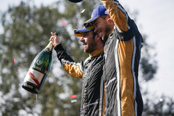 Jean-Eric Vergne, Techeetah, Andre Lotterer, Techeetah make up the first 1st 2nd finish in Formula E history