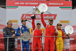 Podium Ferrari 458 Worldfinal