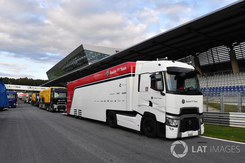 Camion Sauber