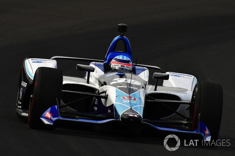 DNF: Takuma Sato, Rahal Letterman Lanigan Racing, Honda