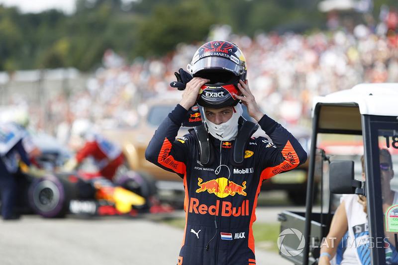 Max Verstappen, Red Bull Racing, gagal finis