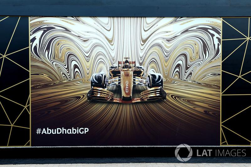 Gran Premio de Abu Dhabi: arte urbano