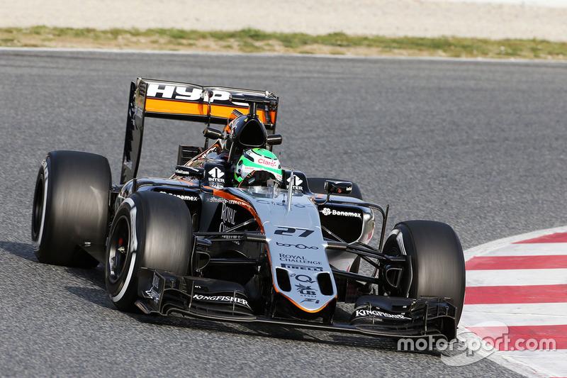 Bestzeit am 3. Tag: Nico Hülkenberg, Sahara Force India F1 VJM09